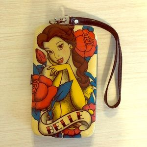 Disney Belle phone case and wallet for iPhone 6